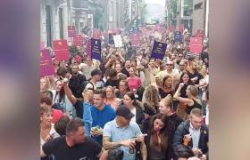 Сите протестирале, па и Холандија